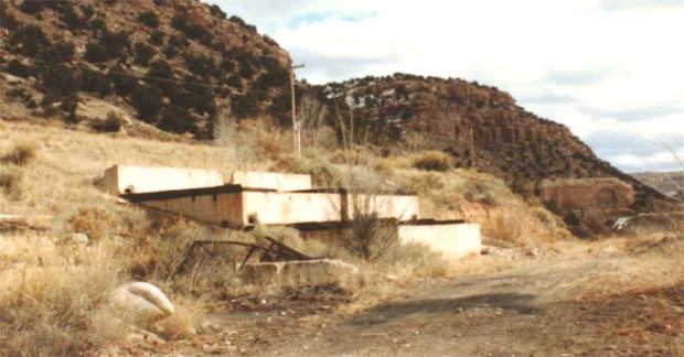 Click here to see a larger version of Manhattan District Uranium Mill Site ruins