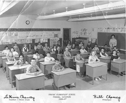 Click here to see a larger version of 1966-67, 3rd grade