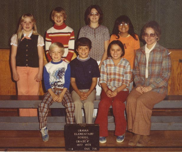 Click here to see a larger version of 1977-78, 4th grade